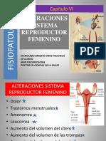 Alteraciones Sistema Reproductor Femenino
