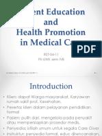Patient Educations - Indonesia