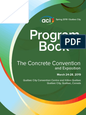 Aci S19 Qcprogram Pdf Structural Engineering Concrete