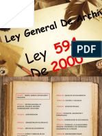 Ley 594 de 2000 Presentacion