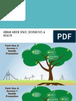 Urban Green Space Disparities and Health 508