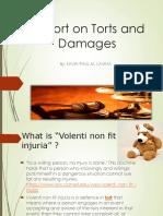 Torts-Volenti Non Fit Injuria