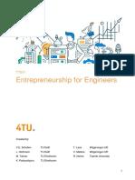 edX Entrepreneurship for Engineers