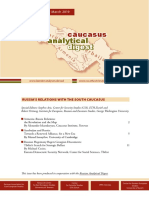 Caucasus Analytical Digest 109