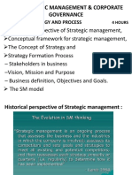 strategic management and corporate governance