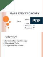 Mass Spectroscopy.pptx Paper 2