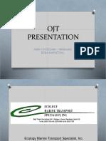 Ojt Presentation