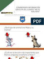 Apoyo Clase 27 Comprensión No Te Rías Pepe