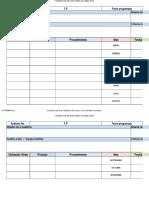 Programa de Auditoría C&F 001