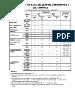 TABELA PRATICA pratica e Simbologia para Instalacoes Eletricas.doc