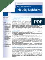 APEX Team Noutati Legislative 3 2019