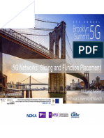 5G Networks Slicing and Function Placement