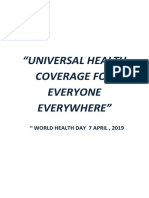 UNIVERSAL HEALTH COVERAGE FOR EVERYONE EVERYWHERE.docx