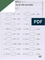 Y6 Math Worksheets