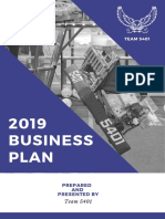 Business Plan 2019