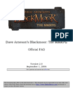 D20 System D&D 3.5 - Dave Arnesons Blackmoor the MMRPG v2.0 - FAQ