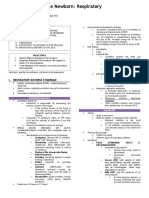 Pediatrics - Dr. Wangdali - Respiratory Disorders