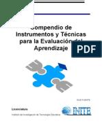 Compendio de Instrumentos y Tecnicas Para La Evaluacion Del Aprendizaje [1]