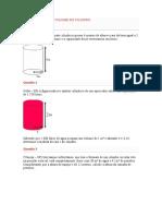 Exercicios Sobre Volume Do Cilindro (2)