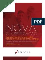 NOVA CLASSIFICAÇÃO PARA DOENÇAS E CONDIÇÕES PERIODONTAIS E PERI-IMPLANTARES
