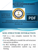 Analysis of Structures supported by Elastic Foundations.ppt