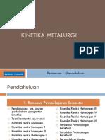 2018.Pertemuan I-Kinetika Metalurgi
