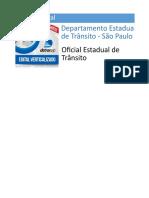 Edital Verticalizado - Oficial Estadual de Trânsito - DeTRAN SP-1