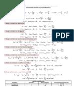 Formulario Completo de Circuitos