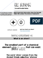 Atom Cornell Doodle Notes Powerpoint Presentation