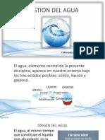 6. El Agua, Contaminación y Gestión