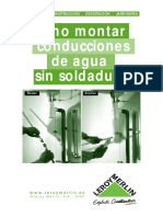 fontaneria-Cómo montar conducciones de agua sin soldadura.PDF