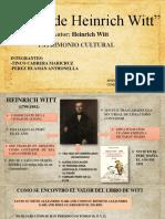 DIARIO DE HEINRICH WITT