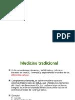 Medicina Tradicional 2015
