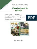 PLANIFICACIONES 3° C 2018