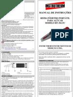 Manual Refratômetro RT-30 ATC