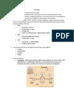 Comprehensive Exam Notes