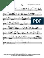 Bach Air_saxo - Alto Sax