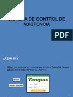 Presentacion CONTROL DE ASISTENCIA
