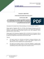 EASA ED Decision 2003