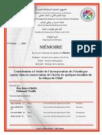 Contribution à l'étude de l'incorporation de l'Oxalis pes caprae dans la conservation de l'herbe de quelques localités de la wilaya de Chlef.pdf