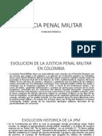 Evolucion Historica de La Justicia Penal Militar