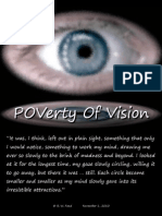 POVerty Of Vision