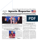 April 10 - 16, 2019  Sports Reporter