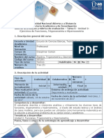 Guía de actividades y rubrica de evaluación Tarea 5- Desarrollar ejercicios de Funciones, Trigonometria y Hipernometria - A