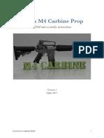 M4 Carbine Instructions