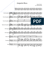 Amparito Roca Cuarteto Saxofones