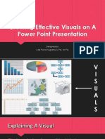 Effective Visuals Design