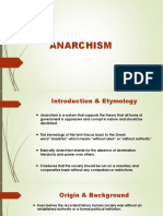 Anarchism Slides