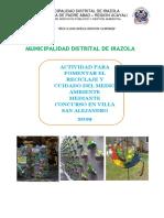 ACTIVIDAD CONCURSO DE RECICLAJE OSPYGA 2019.docx