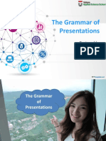 The Grammar of a Presentation
